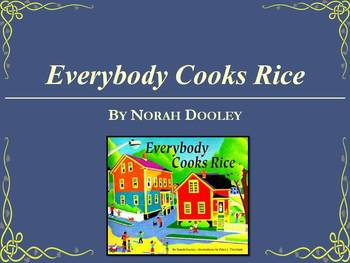 Everybody Cooks Rice by Dooley Collaborative Conversations Text Talk
