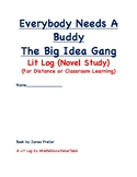 Everybody Needs A Buddy Lit Log (novel study)