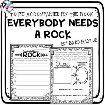 Everybody Needs a Rock Ice Breaker Activity