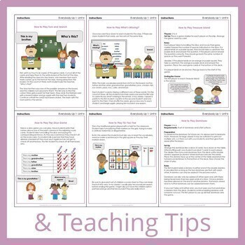 Everybody Up 1 - Unit 4 Worksheets (+280 Pages!)
