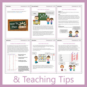 Everybody Up - Unit 3 Worksheets (+170 Pages!)