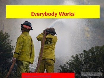 Everybody Works (Unit 1) Journeys Kindergarten Common Core Reading Series