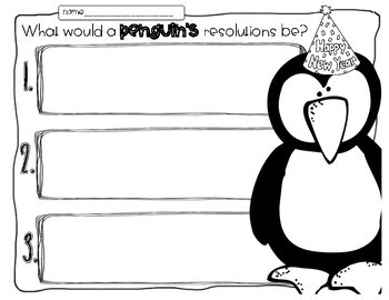 Everybody's Makin New Year's Resolutions! A Inference Activity for New Year 2018