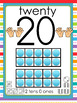 Everyday 0-20 Number Poster Anchor Charts