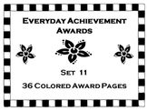 Everyday Achievement Awards-Set 11