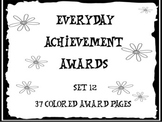 Everyday Achievement Awards-Set 12