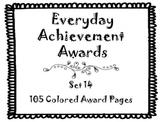 Everyday Achievement Awards-Set 14