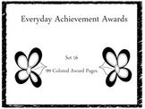 Everyday Achievement Awards-Set 16