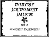 Everyday Achievement Awards-Set 17