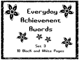 Everyday Achievement Awards-Set 3