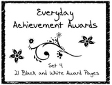 Everyday Achievement Awards-Set 4