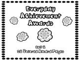 Everyday Achievement Awards-Set 8