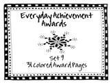 Everyday Achievement Awards-Set 9
