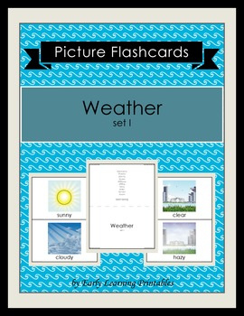 Weather (set I) Picture Flashcards