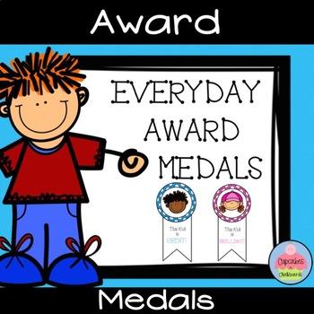 Everyday Award Medals