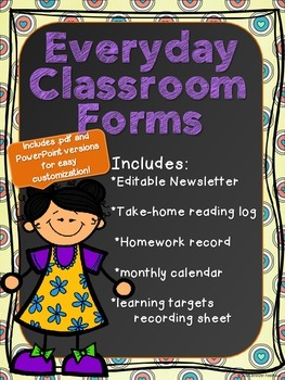 Everyday Classroom Forms