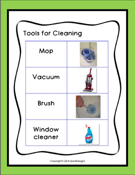 Everyday Cleaning Objects