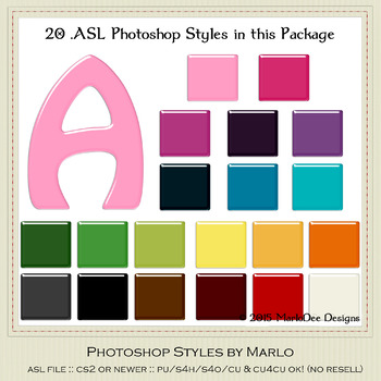 Everyday Colors Gloss Pattern Photoshop Styles