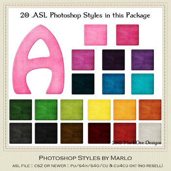 Everyday Colors Texture Pattern set 2 Photoshop Styles
