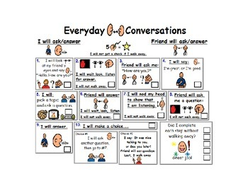Conversation Checklist Version 1