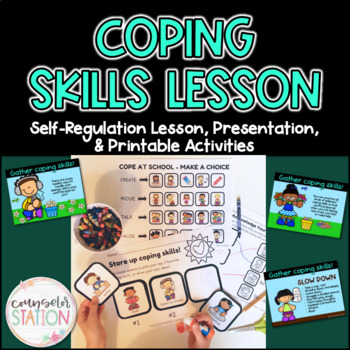 Everyday Coping Skills - Mini-Lessons, Printable Activities, and a Poster
