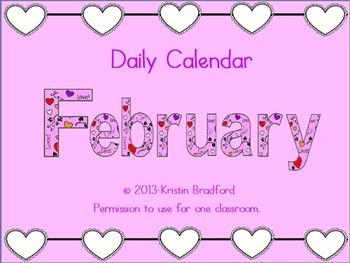 Everyday Counts Calendar February