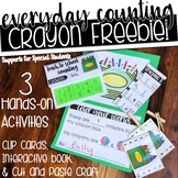 Everyday Counting - Crayon FREEBIE!