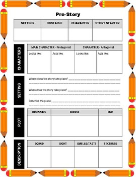 Everyday Creative Story Writing Activity