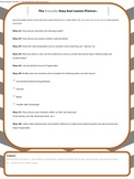 Everyday Easy Eval Lesson Planner: A Best Practice Teaching Tool