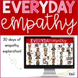 Empathy Activities: Everyday Empathy Daily Digital Discussion Activities