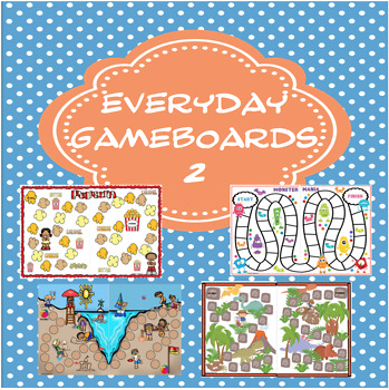 Everyday Game boards  Set #2