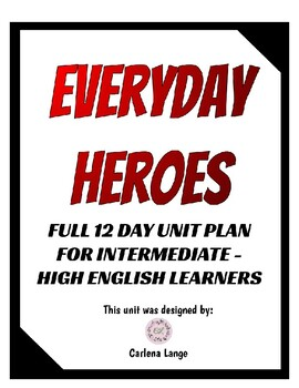 Everyday Heroes Unit Plan