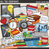 "Everyday / Household Objects Clip Art: ""All The Everydays"""