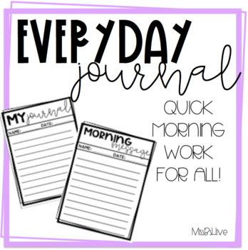 Everyday Journal