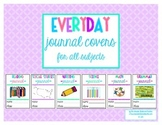 Interactive Journal Covers for All Subjects