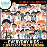 Everyday Kids Clipart (Lime and Kiwi Designs)