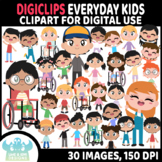 Everyday Kids DigiClips, Movable Digital Pieces, Digital M