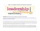 Everyday Leadership: Audio, Reading, Common Core Activity