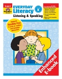 Everyday Literacy Listening and Speaking, Grade K