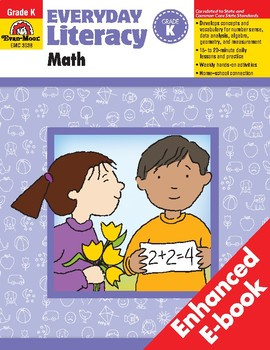 Everyday Literacy: Math, Grade K