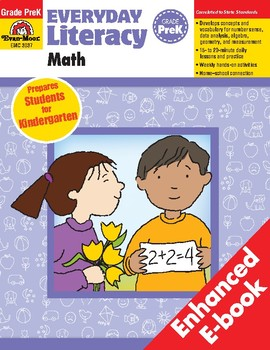 Everyday Literacy: Math, Grade Pre-K