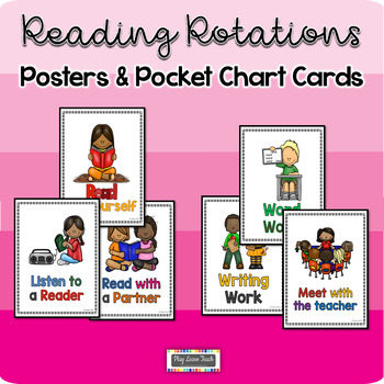 Everyday Literacy Routines - Posters & Pocket Chart Cards