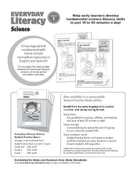Everyday Literacy Science, Grade 1