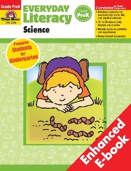 Everyday Literacy Science, Grade Pre-K