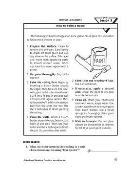 Everyday Living Words-How to Paint a Room