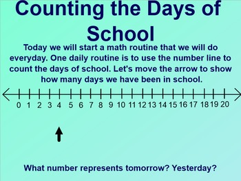 Everyday Math 1st Grade 1.1 Daily Routines