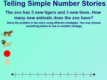 Everyday Math 1st Grade 1.13 Number Stories