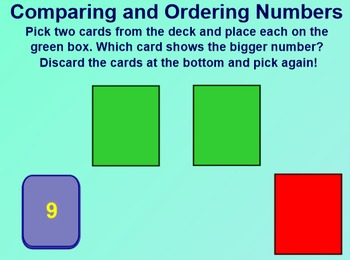 Everyday Math 1st Grade 1.6 Comparing Numbers