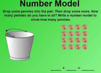 Everyday Math 1st Grade 2.11 Number Models