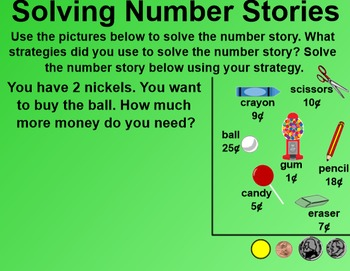 Everyday Math 1st Grade 2.13 Number Stories